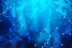 2d conceito da comunidade da rede da ilustração Meios mistos Imagem de Stock