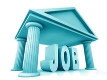 3d concept of job Stock Photos