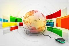 3d concept van Internet Stock Afbeelding
