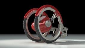 3D concept vehicle stock video