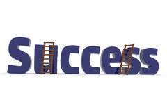 3d concept with the word Success Stock Images