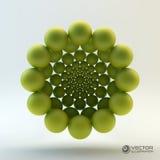 3D conceptenillustratie Royalty-vrije Stock Foto's
