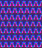 3d cone pattern Royalty Free Stock Photography