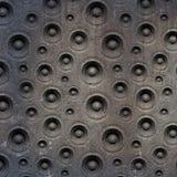 3d correcte systeem van de samenstellings grunge oude spreker Stock Fotografie