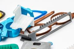 3D cose stampabili, cambiamento di scambio di configurazione del colect della stampa Fotografia Stock Libera da Diritti