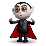 3d Count Dracula Royalty Free Stock Photos