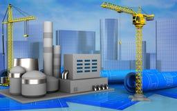3d of crane Stock Image