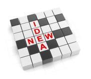 3d Crossword Series Stock Image