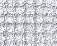3D cuba il fondo della parete Fotografie Stock Libere da Diritti