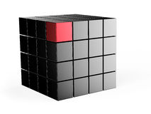 3d cube Royalty Free Stock Images