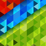 3D Cube Background Stock Photography