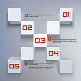 3d Cube  graphic Royalty Free Stock Images