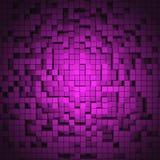 3D cube le fond Images libres de droits
