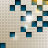 3d cube pattern background Stock Image