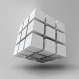 3D cube Royalty Free Stock Image
