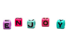 3d cubes письма Стоковое Фото
