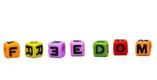 3d cubes письма Стоковое фото RF