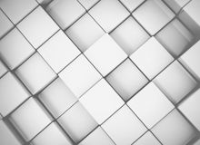 3d cubes Stock Photo