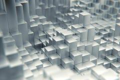 3d Cubes stock illustration