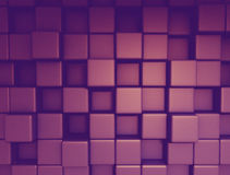 3d cubes background. Abstract image of cubes background 3d render Stock Image