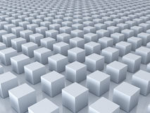3d cubes background with reflections and shadows . 3D render. Ing Stock Image