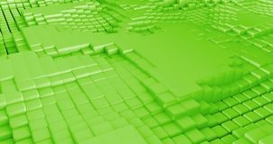 3D Cubes Background Seamless Looping Abstract stock footage