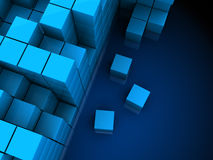 3d cubes Stock Photography