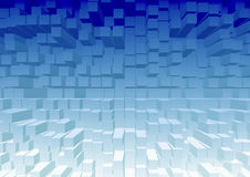 3D cubic texture pattern color background Royalty Free Stock Photo