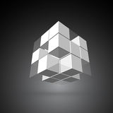 3d cubic Royalty Free Stock Images