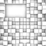 3D cubica el fondo Foto de archivo
