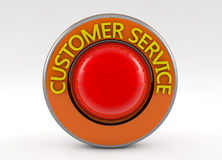 3d customer service sign Royalty Free Stock Photography