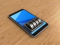 3d cyan-blau Stockfotos