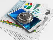 3d cyber Stock Foto