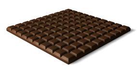 3d czekoladowy bar Fotografia Stock