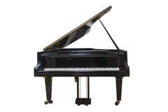 3 d czerni tła ' grand ilustracja wyizolował pianino Zdjęcie Stock