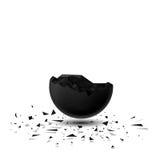 3D détruit par sphère Photographie stock libre de droits
