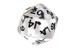 D&D dice Stock Photos