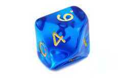 D&D dice Stock Photo