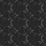 3D dark paper art Polygon Star Geometry Cross Dot Line. Vector stylish decoration pattern background for web banner greeting card design Vector Illustration