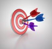3d dart Stock Image