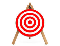 3d Darts Target. On a white background Stock Images