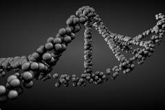 3d, das DNA-Molekül überträgt vektor abbildung