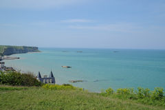 D-Day beaches of Normandy, France Stock Photos