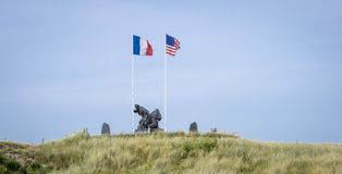 D-Day Memorial, Utah Beach, Normandy, France Stock Photography