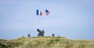 D-Day Memorial, Utah Beach, Normandy, France Stock Photography