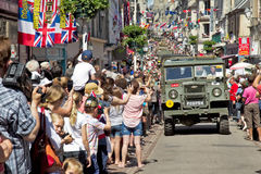 D-Day Parade - Bayeux Royalty Free Stock Photos