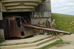 Normandy Gun Royalty Free Stock Photos
