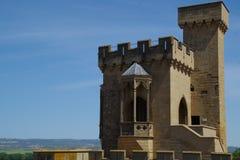 D& x27 de château ; Olite Photos stock