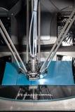 3d de drukproces van printermass portal Royalty-vrije Stock Foto's