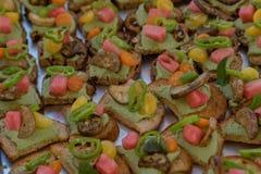 D& x27 de Hors de gourmet ; oeuvres 8 Photo stock